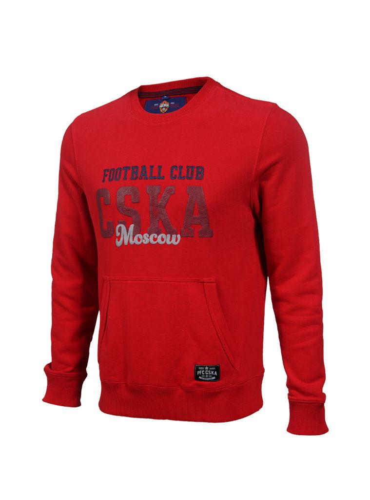 Купить Свитшот «CSKA Moscow», цвет красный (M) по Нижнему Новгороду