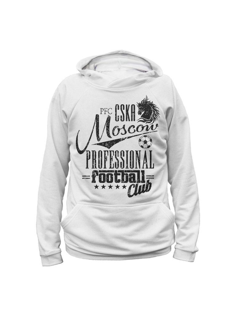 Купить Худи детское «PFC CSKA Moscow», цвет белый (146) по Нижнему Новгороду