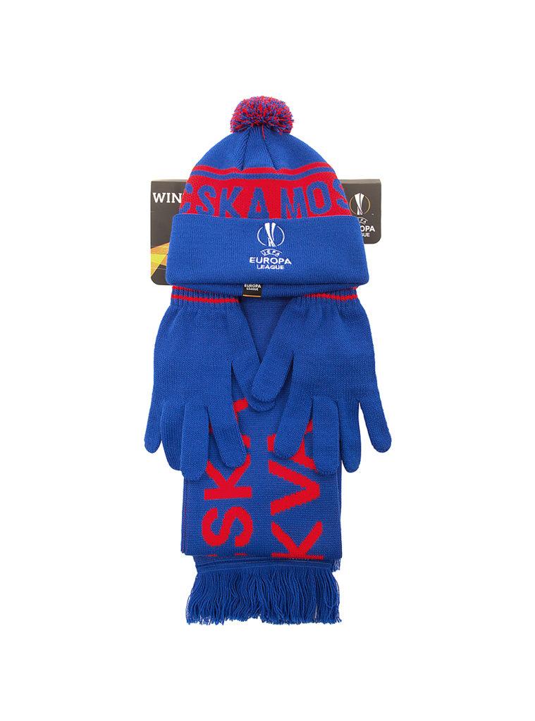 Купить Набор EUROPA LEAGUE (шапка, шарф, перчатки) по Нижнему Новгороду
