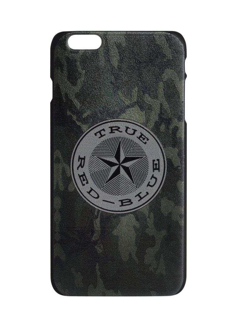 Купить Клип-кейс для iPhone 6 Plus «True-Red-Blue», цвет милитари по Нижнему Новгороду