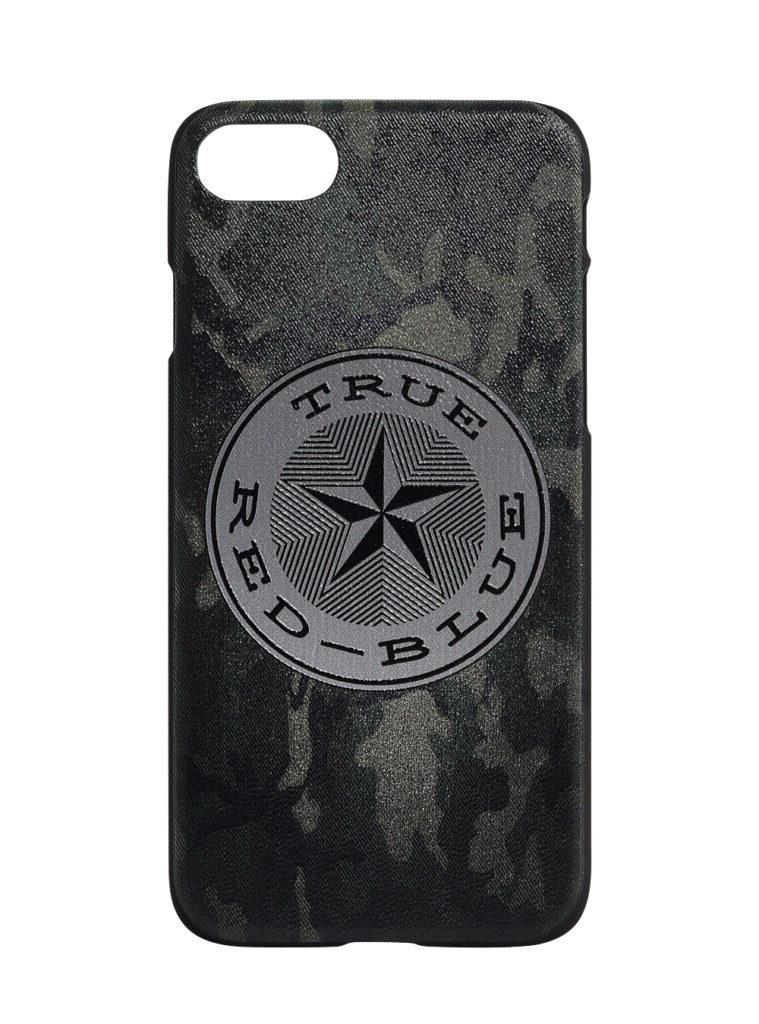 Купить Клип-кейс для iPhone 7/8 «True-Red-Blue», цвет милитари по Нижнему Новгороду