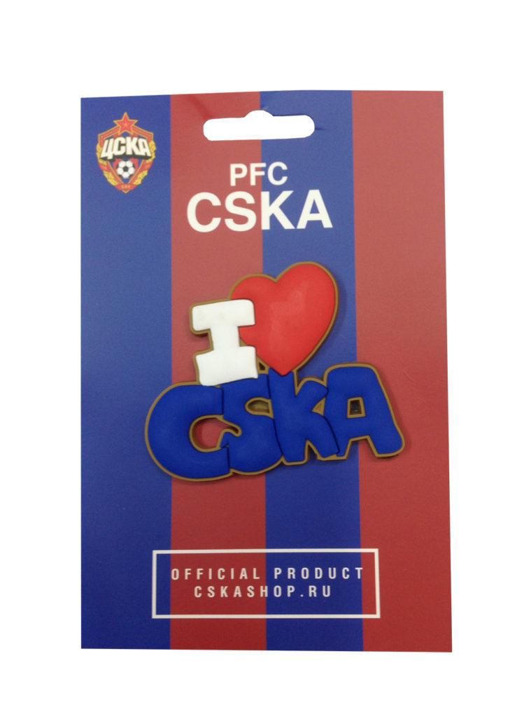 Купить Магнит «I love CSKA» по Нижнему Новгороду