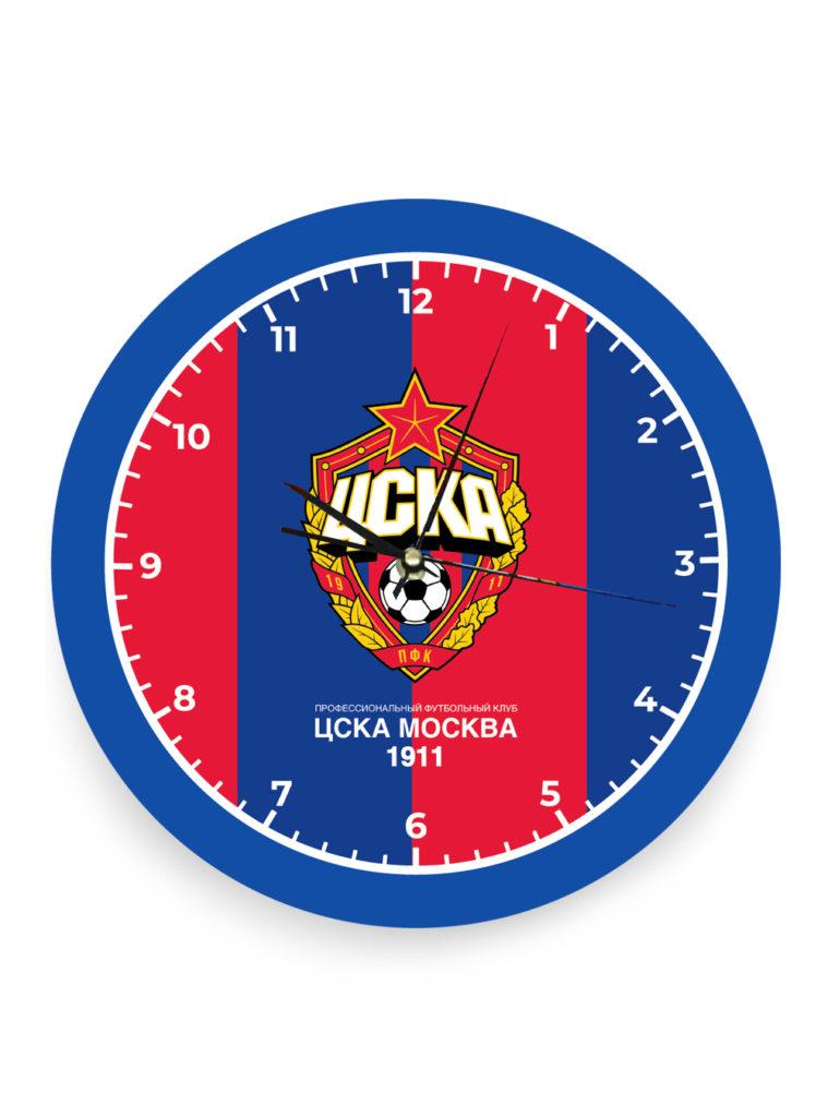 Купить Часы настенные с эмблемой красно-синие по Нижнему Новгороду