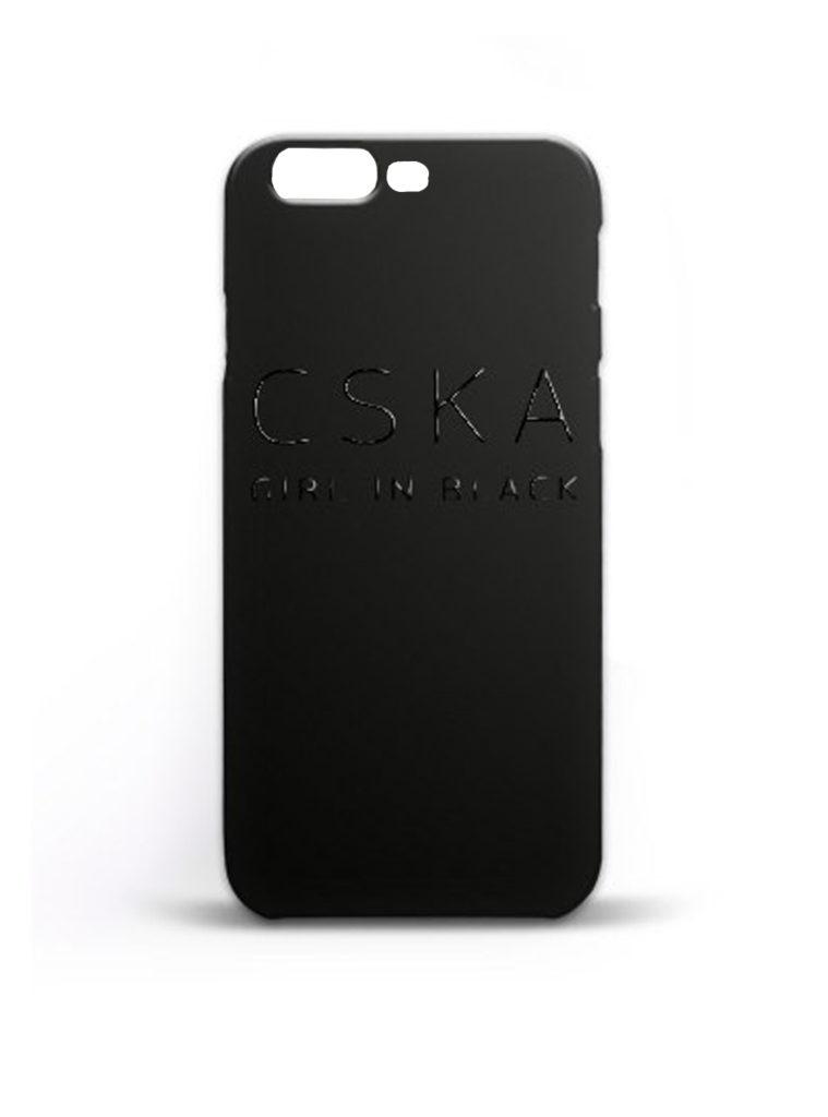 Купить Клип-кейс «CSKA GIRL IN BLACK»для iPhone 7 Plus, цвет чёрный по Нижнему Новгороду