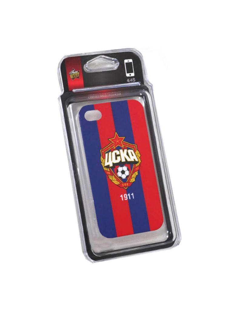 Купить Клип-кейс для iPhone 4/4S красно-синий по Нижнему Новгороду