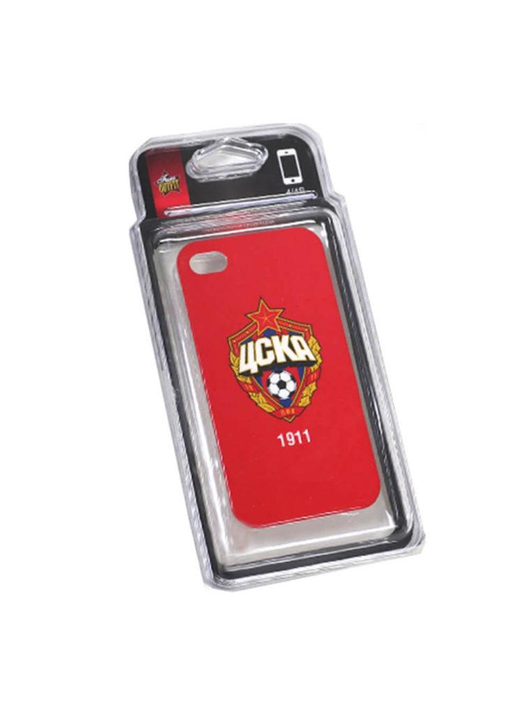 Купить Клип-кейс для iPhone 4/4S красный по Нижнему Новгороду