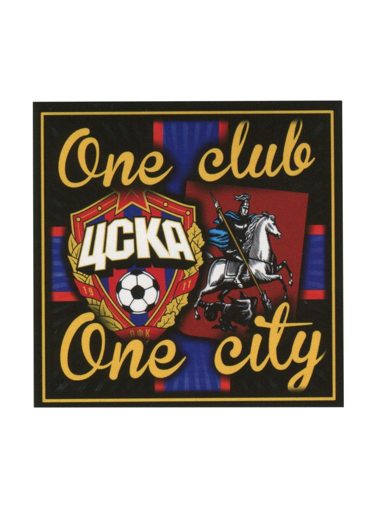 Купить Наклейка » One Club One City « по Нижнему Новгороду