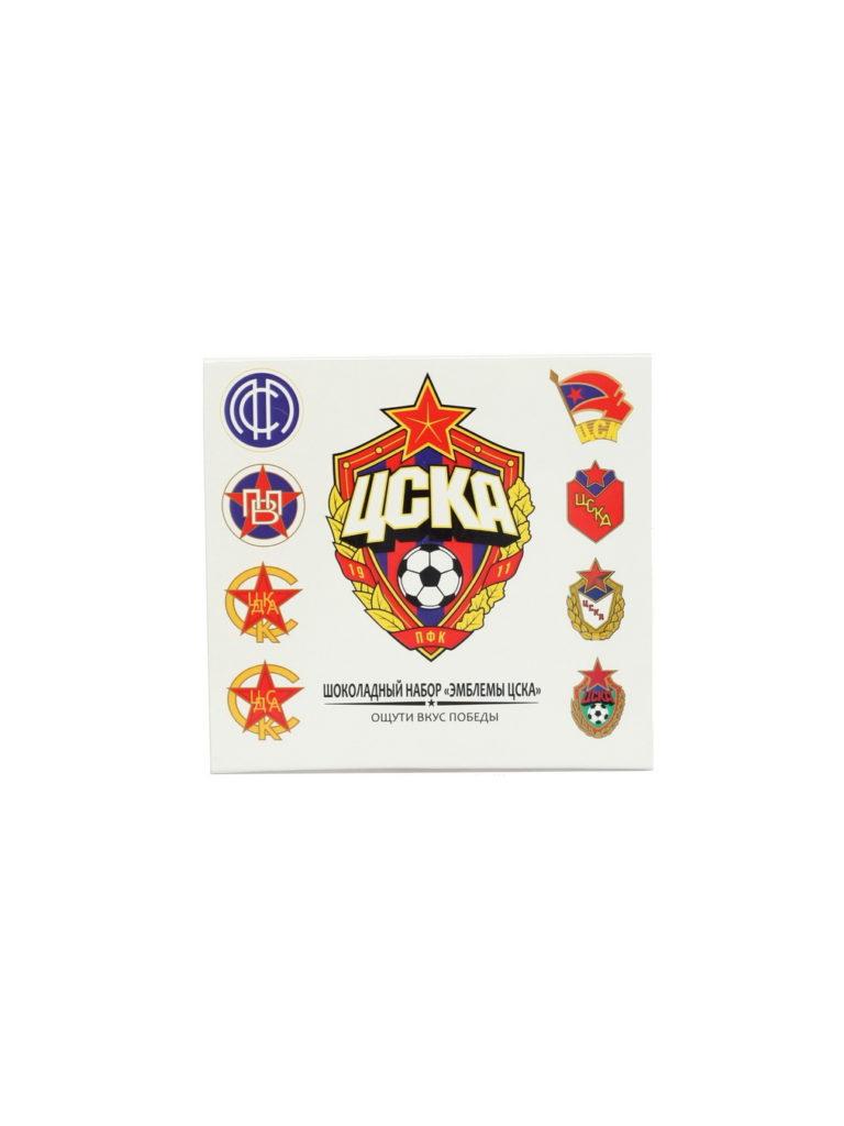 Купить Шоколадный набор «Эмблемы ЦСКА» по Нижнему Новгороду
