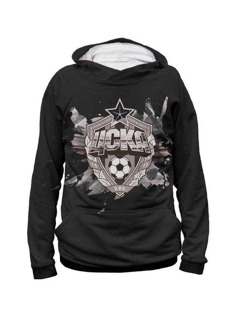 Купить Худи мужское «Эмблема», цвет чёрный (XL) по Нижнему Новгороду