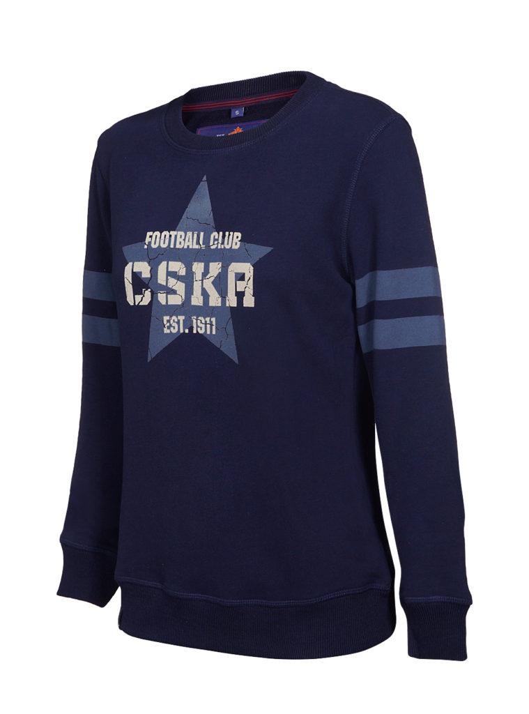 Купить Свитшот женский «CSKA. Звезда» (S) по Нижнему Новгороду