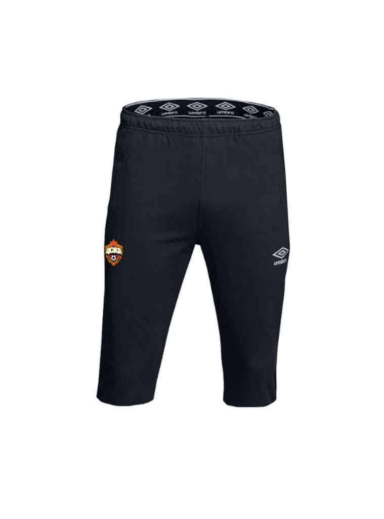Купить Костюм тренировочный  (брюки 3/4), черный/белый (S) по Нижнему Новгороду
