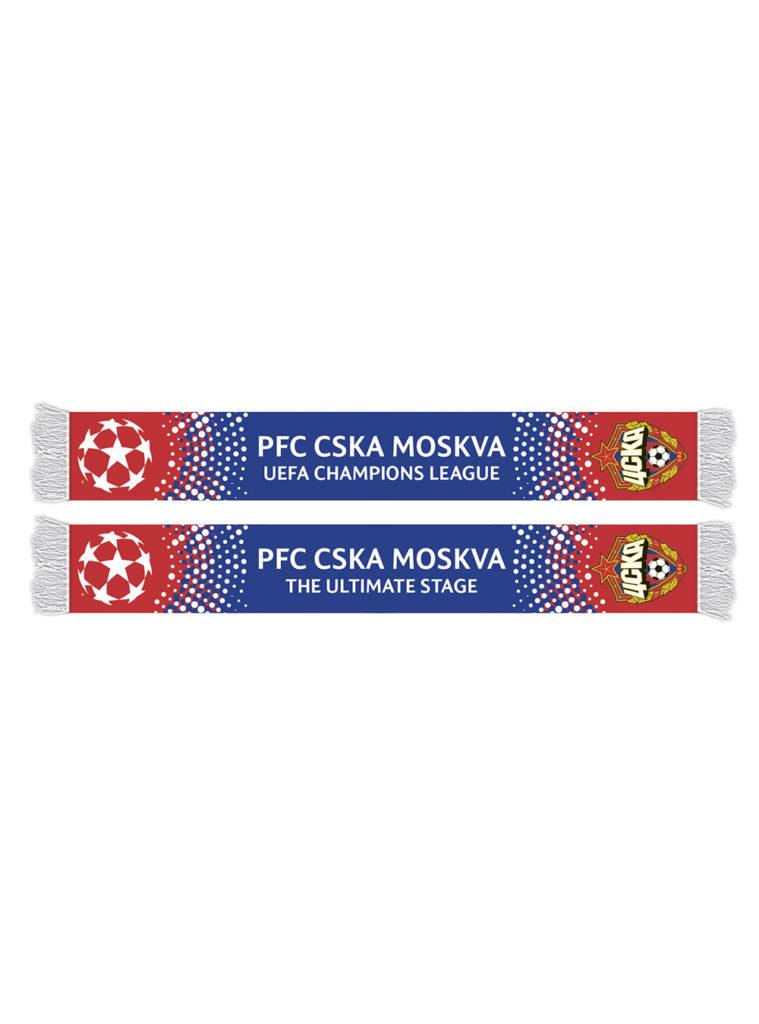 Купить Шарф вязаный «Champions League» по Нижнему Новгороду
