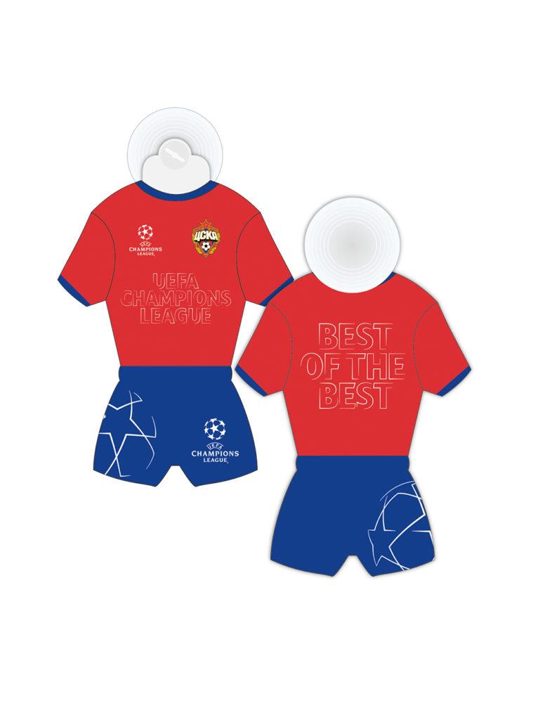 Купить Мини форма на присоске «Champions League» по Нижнему Новгороду