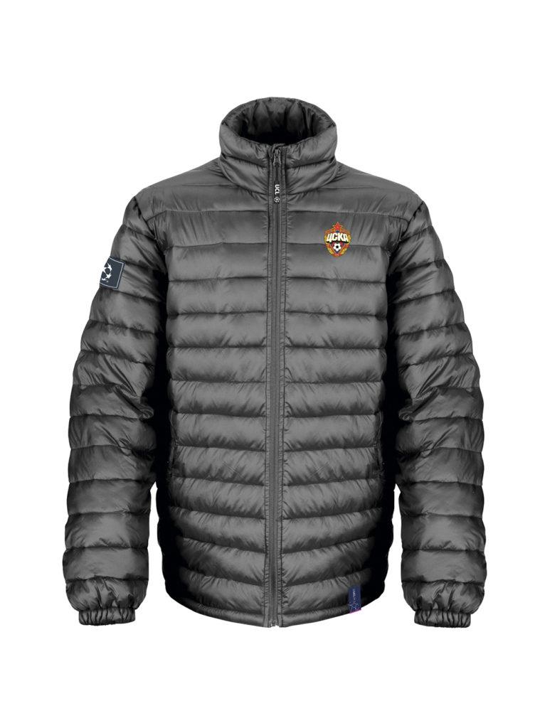Купить Куртка утеплённая «Champions League», цвет чёрный (L) по Нижнему Новгороду