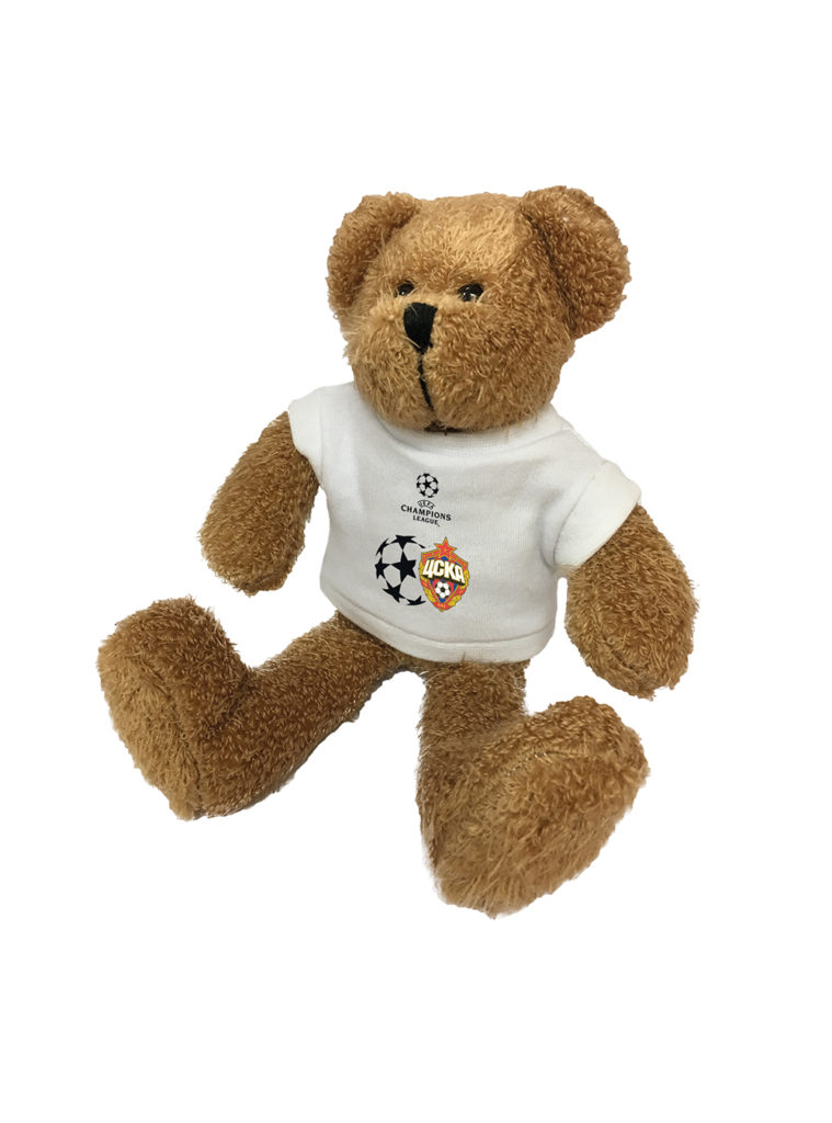 Купить Мягкая игрушка «Медведь Тедди в футболке Champions League» по Нижнему Новгороду