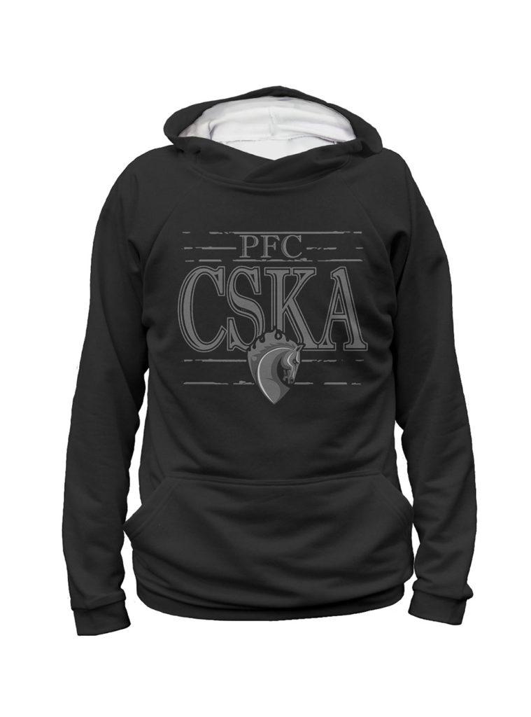 Купить Худи мужское «PFC CSKA. Талисман» (S) по Нижнему Новгороду