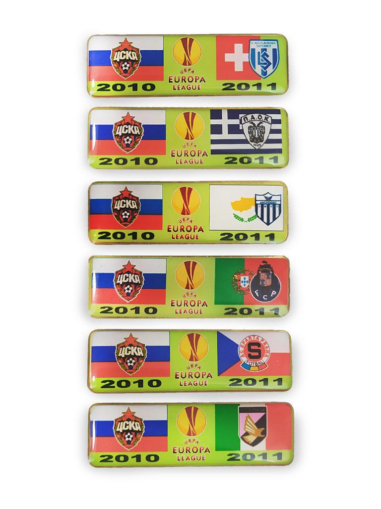 Купить Набор коллекционных значков ЛЕ 2010-2011 (6шт) по Нижнему Новгороду