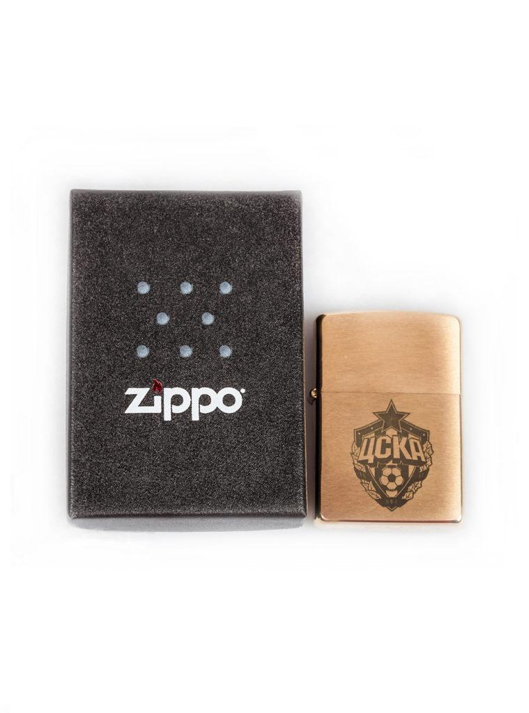 Купить Зажигалка  ZIPPO, цвет золотой по Нижнему Новгороду