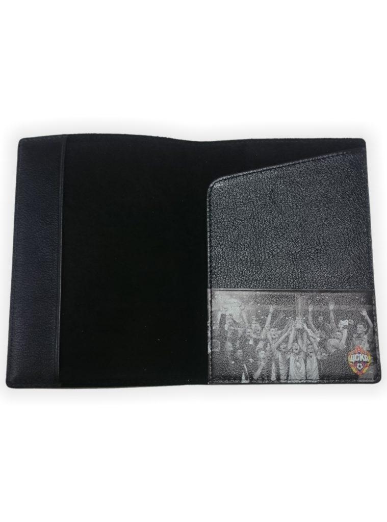 Купить Обложка для паспорта Кубок УЕФА, чёрный по Нижнему Новгороду