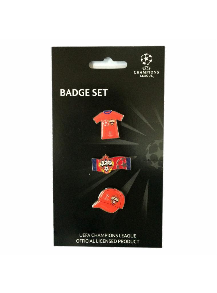 Купить Набор значков «Champions League» по Нижнему Новгороду