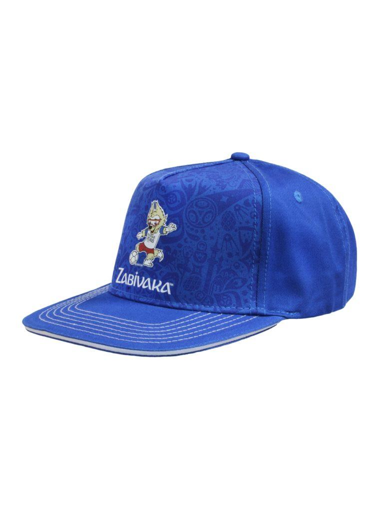 Купить Бейсболка синяя,прямой козырёк «Забивака удар» по Нижнему Новгороду