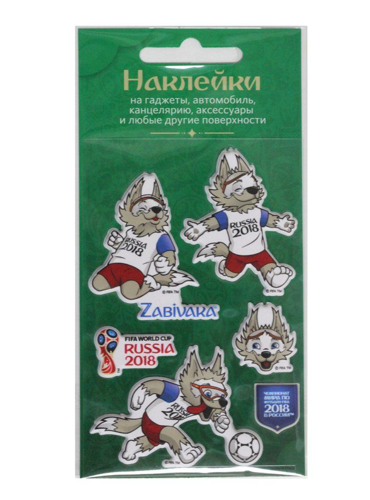 Купить Набор объёмных наклеек №1 «Забивака» по Нижнему Новгороду