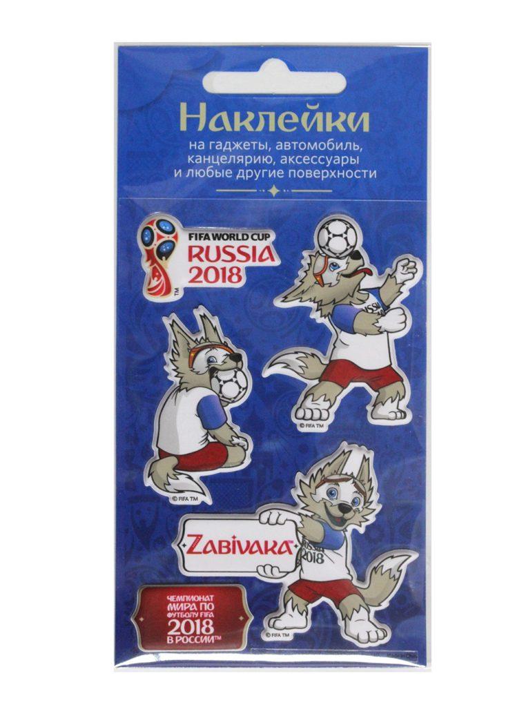 Купить Набор объёмных наклеек №2 «Забивака» по Нижнему Новгороду