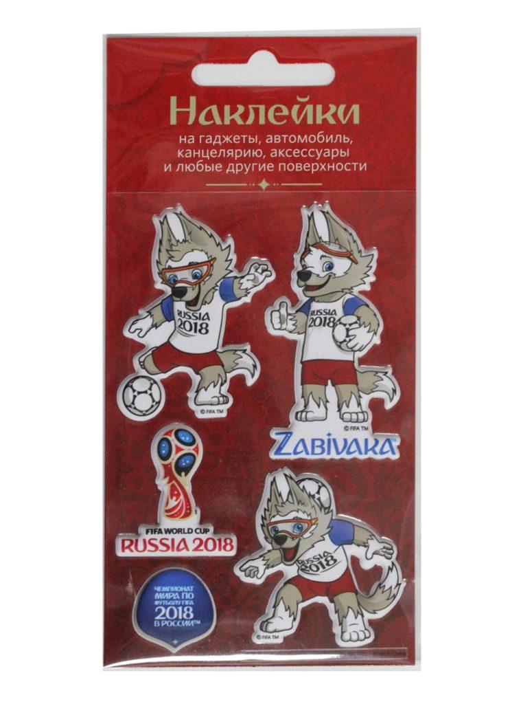 Купить Набор объёмных наклеек №3 «Забивака» по Нижнему Новгороду