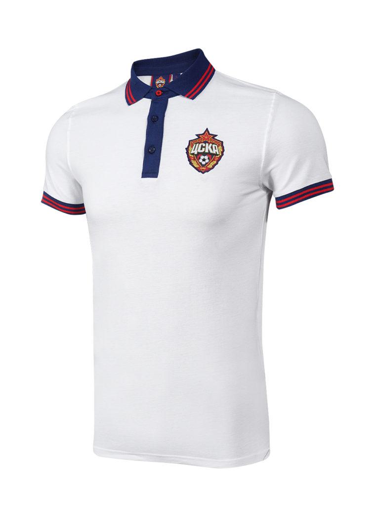 Купить Поло мужское, цвет белый (XXL) по Нижнему Новгороду
