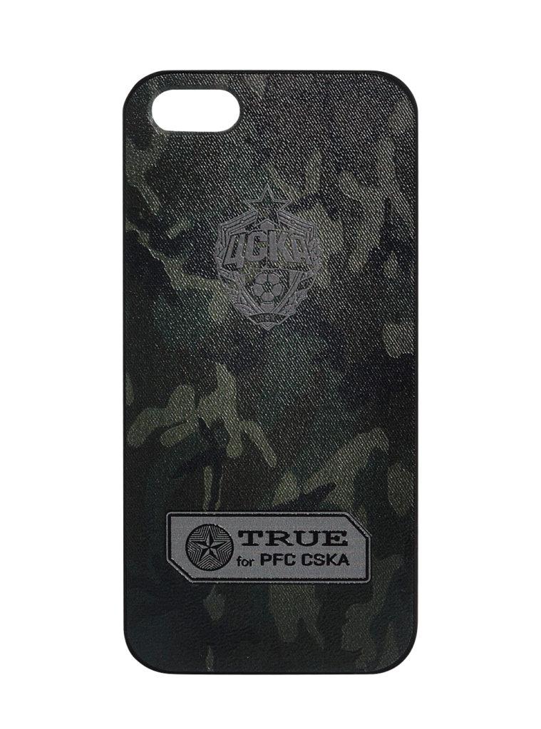 Купить Клип-кейс для iPhone 5/5s «Эмблема», цвет милитари по Нижнему Новгороду
