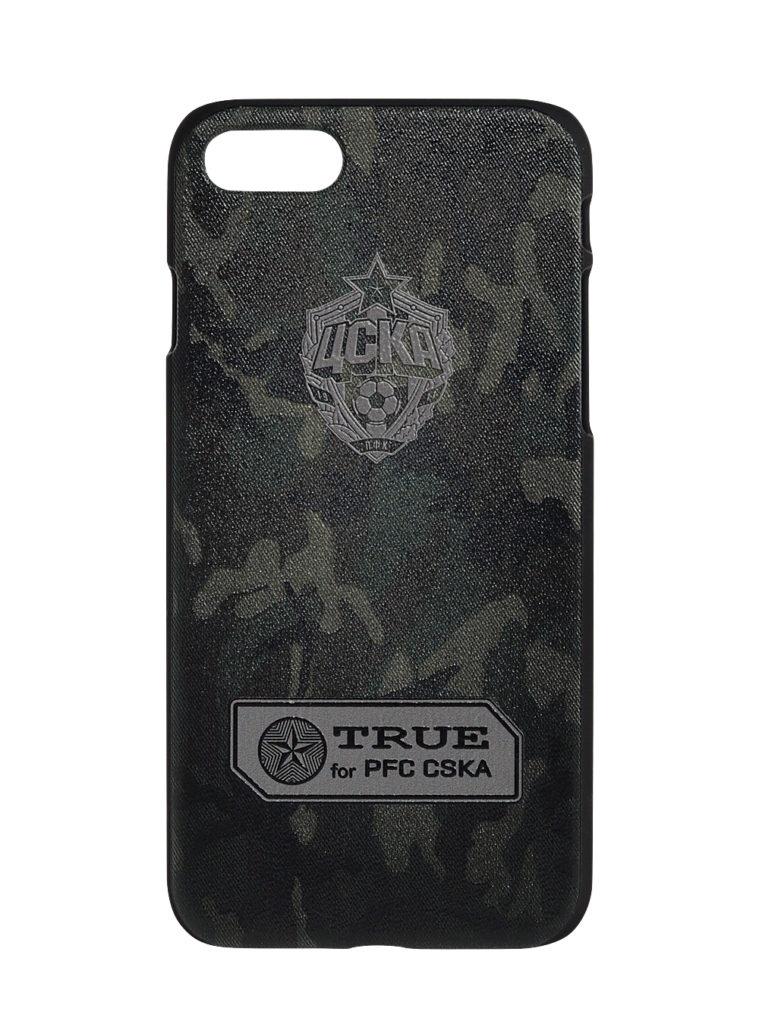 Купить Клип-кейс для iPhone 7/8  «Эмблема», цвет милитари по Нижнему Новгороду