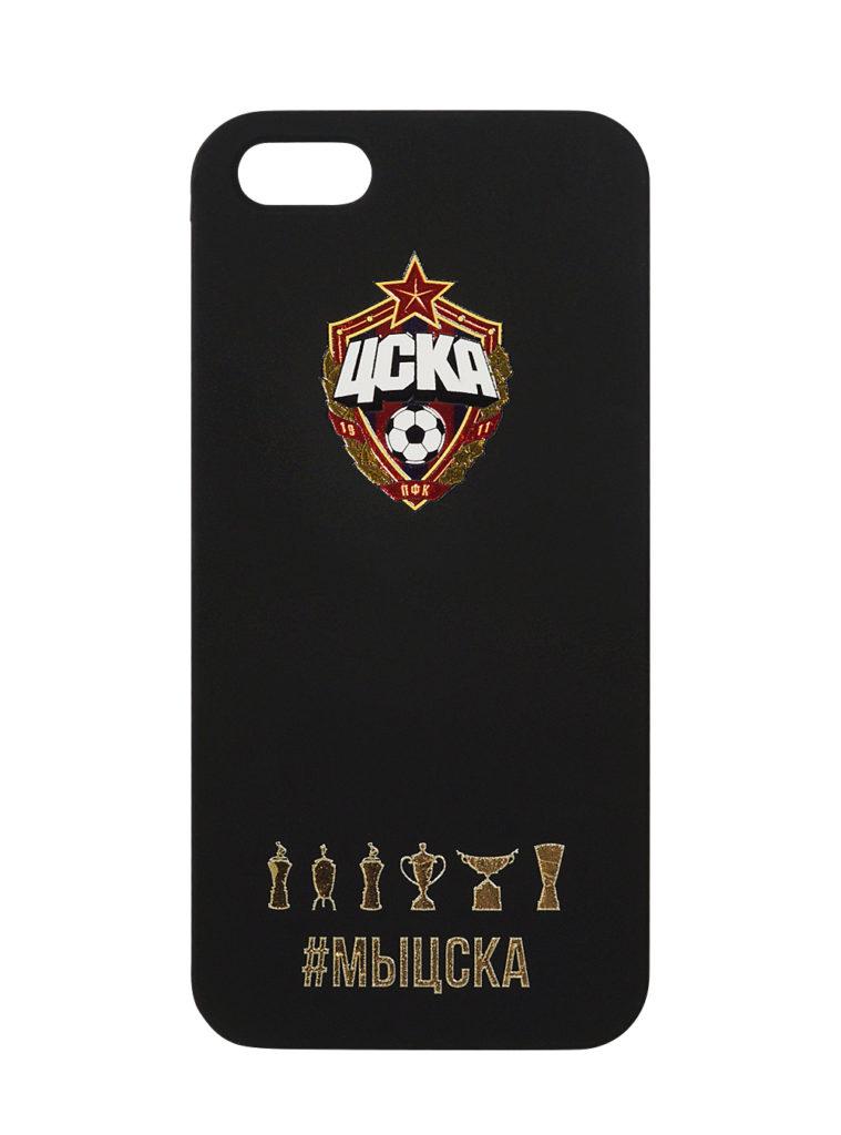Купить Клип-кейс для iPhone 5/5s #МЫЦСКА чёрный по Нижнему Новгороду