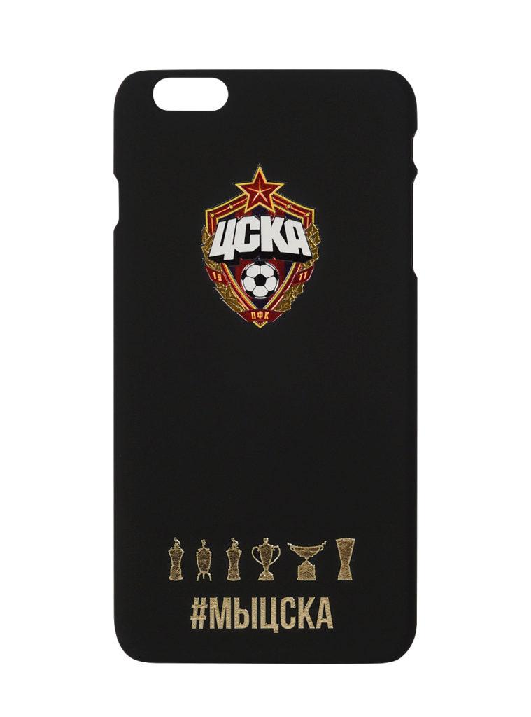 Купить Клип-кейс для iPhone 6 Plus #МЫЦСКА чёрный по Нижнему Новгороду