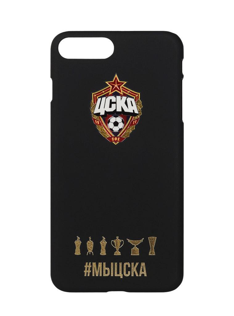 Купить Клип-кейс для iPhone 7/8 Plus #МЫЦСКА чёрный по Нижнему Новгороду
