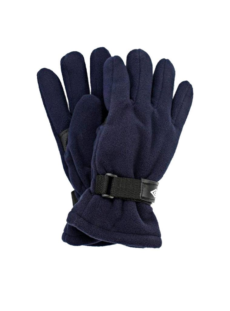Купить Перчатки повседневные темно-синий/белый (FLEECE GLOVES(091)) (S) по Нижнему Новгороду
