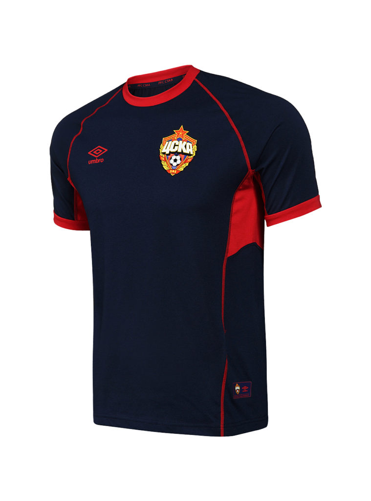 Купить Футболка тренировочная синяя х/б (XXXL) по Нижнему Новгороду