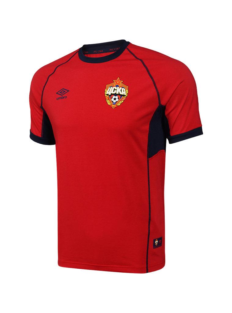 Купить Футболка тренировочная красная х/б (XL) по Нижнему Новгороду