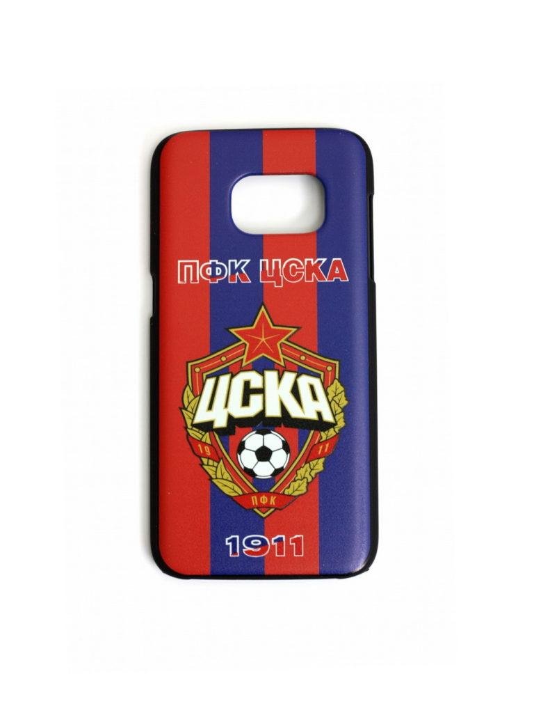 Купить Клип-кейс ПФК ЦСКА 1911 для Samsung S7 красно-синий по Нижнему Новгороду