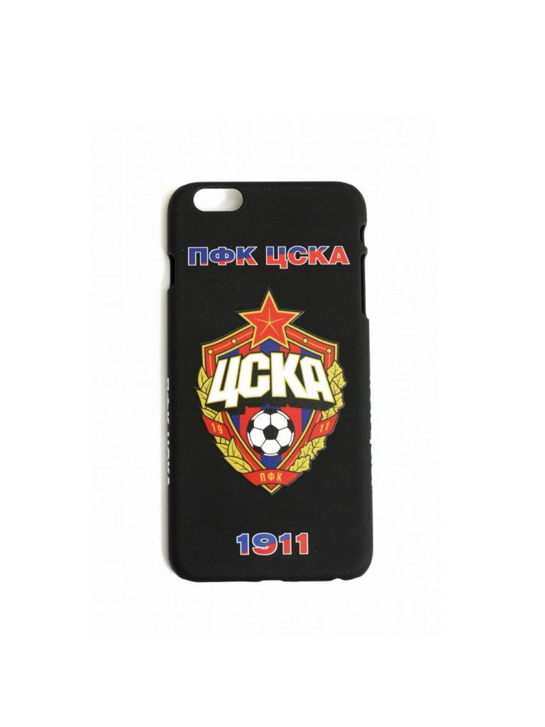Купить Клип-кейс ПФК ЦСКА 1911 для iPhone 6+ чёрный по Нижнему Новгороду