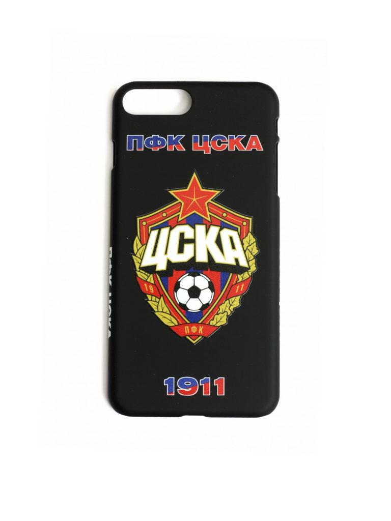 Купить Клип-кейс ПФК ЦСКА 1911 для iPhone 7+/8+ чёрный по Нижнему Новгороду