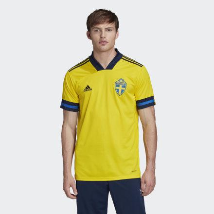 Купить Домашняя футболка сборной Швеции adidas Performance по Нижнему Новгороду