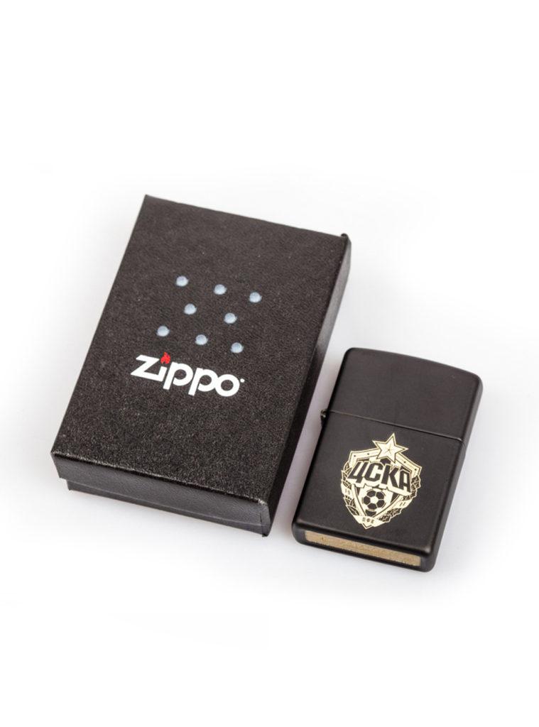 Купить Зажигалка  ZIPPO, цвет чёрный матовый по Нижнему Новгороду