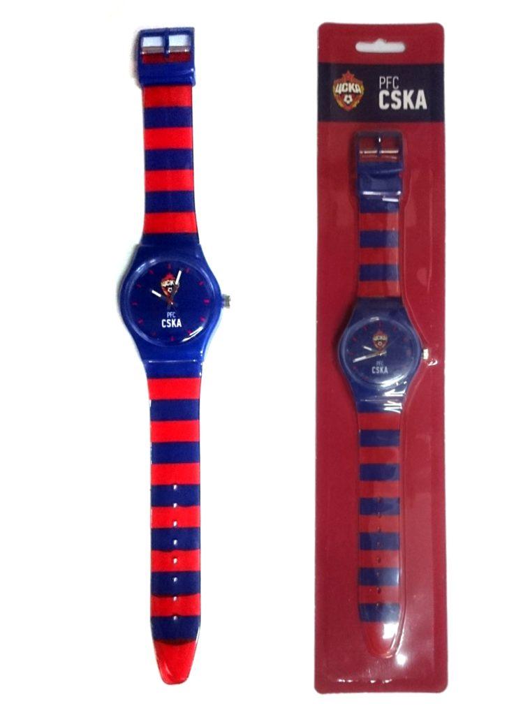 Купить Часы наручные 33мм PFC CSKA, красно-синий ремешок по Нижнему Новгороду