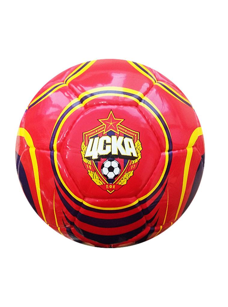 Купить Мяч футбольный красно-синий «Эмблема и талисман», размер 5 по Нижнему Новгороду
