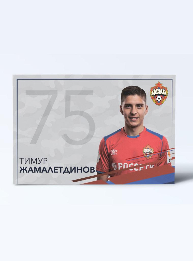 Купить Карточка для автографа Жамалетдинов по Нижнему Новгороду