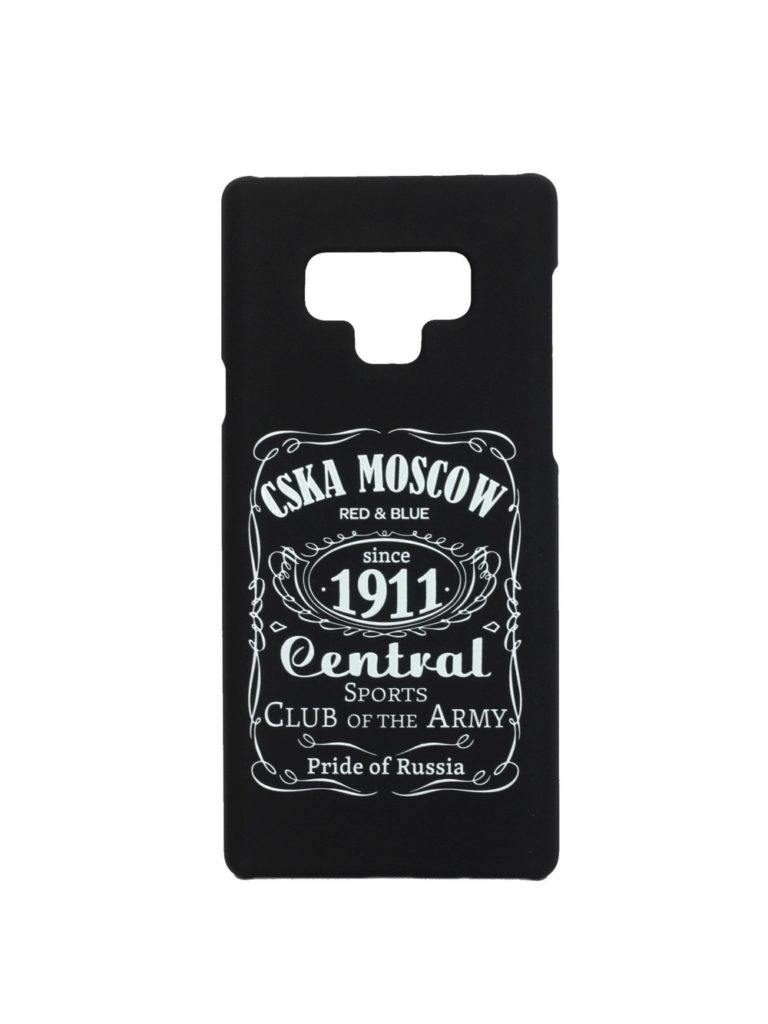 Купить Клип-кейс для Samsung Galaxy Note 9 «CSKA MOSCOW 1911» cover, цвет чёрный по Нижнему Новгороду