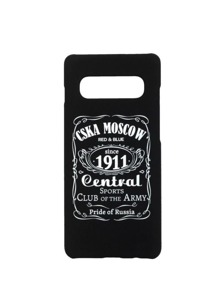 Купить Клип-кейс для Samsung Galaxy S10 «CSKA MOSCOW 1911» cover, цвет чёрный по Нижнему Новгороду