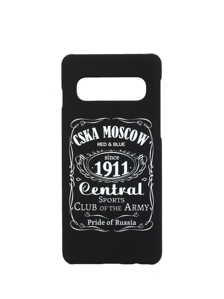 Купить Клип-кейс для Samsung Galaxy S10 Plus «CSKA MOSCOW 1911» cover, цвет чёрный по Нижнему Новгороду