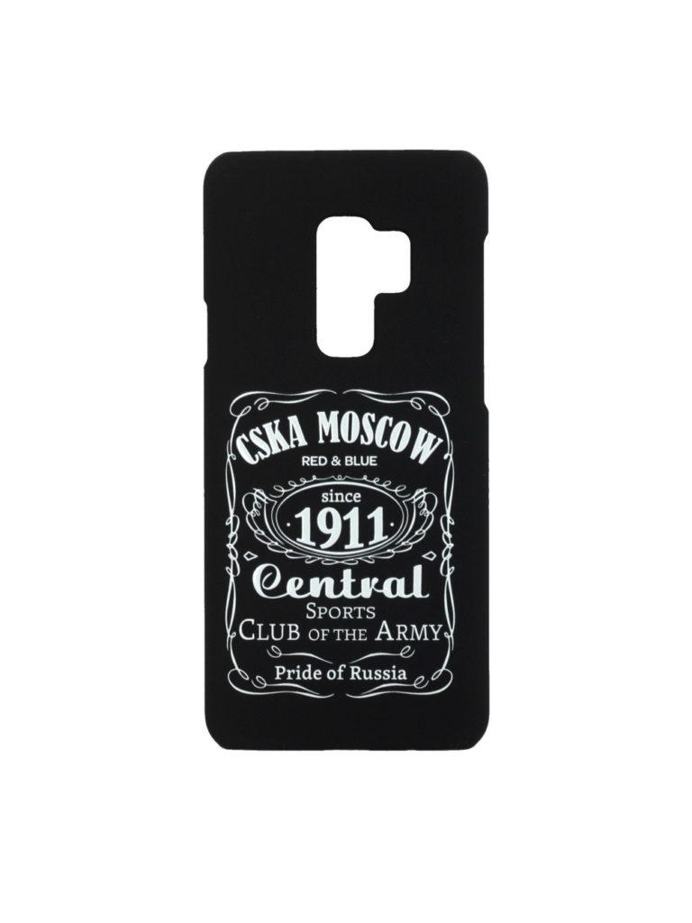 Купить Клип-кейс для Samsung Galaxy S9 Plus «CSKA MOSCOW 1911» cover, цвет чёрный по Нижнему Новгороду
