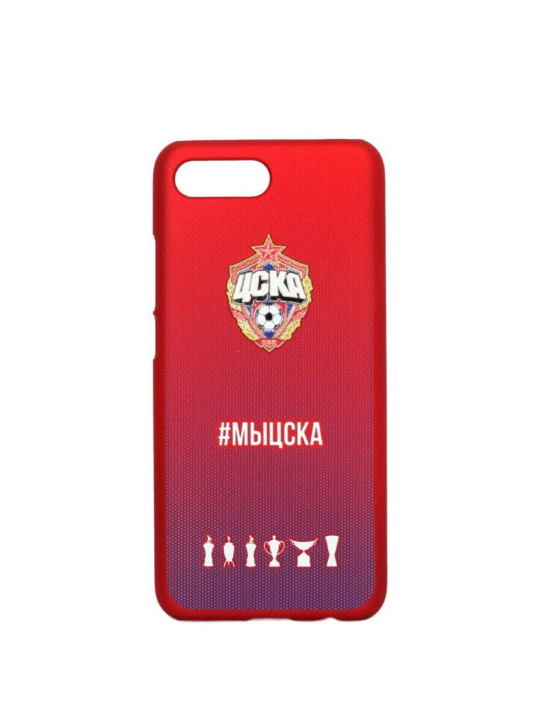 Купить Клип-кейс для Huawei Honor 10 #МЫЦСКА градиент по Нижнему Новгороду